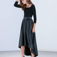 Yes Pleats Off-Shoulder Maxi Dress GoJane.com