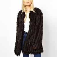 Urbancode Faux Fur Coat