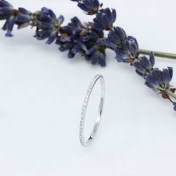 (Made to Order) Diamond Eternity Band