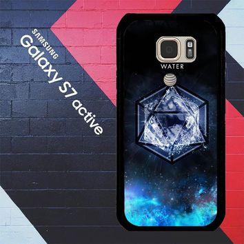 Sacred Geometry Water Symbol L1286 Samsung Galaxy S7 Active Case