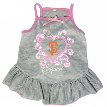 PEAPON San Francisco Giants 'Too Cute Squad' Pet Dress