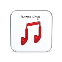 Happy Plugs Earbuds Red One Size For Men 24789930001