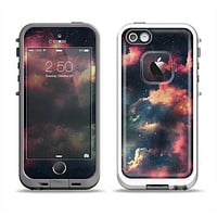The Vintage Stormy Sky Apple iPhone 5-5s LifeProof Fre Case Skin Set