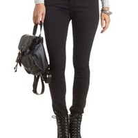 Low Rise Black Skinny Jeans by Charlotte Russe