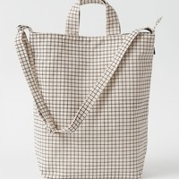Duck Bag - Natural Grid