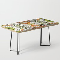 Seeing Tribe Coffee Table by duckyb