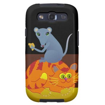 Cat & Mouse Samsung Galaxy S3 Case