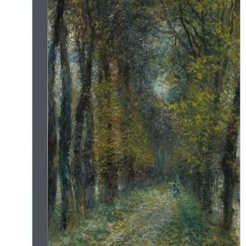 The avenue (L'allée couverte). 1872 Giclee Print by Pierre-Auguste Renoir at Art.com