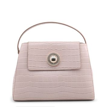 Versace Jeans Pink Leather Handbag