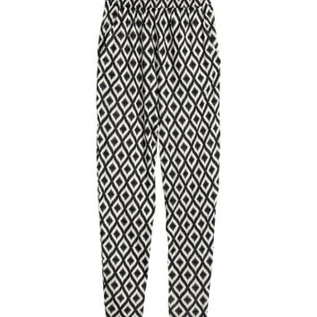 H&M Patterned Jersey Pants $17.95