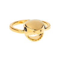 Little Shark Ring- Gold Vermeil