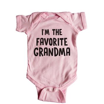 I'm The Favorite Grandma Baby Onesuit