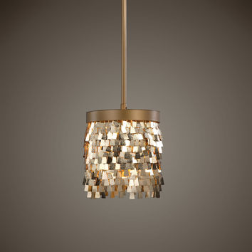 Tillie 1 Light Gold Mini Pendant