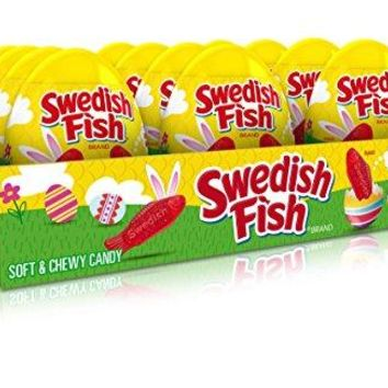 Swedish Fish Soft Candy Easter Egg, 24 Count