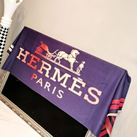 Free Shipping-Hermes Classic Print Long Shawl Scarf