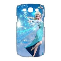 New Movie Frozen The Snow Queen Elsa 3D Best Hard Plastic Samsung Galaxy S3 I9300 I9308 I939 Cases Back Cover Skin at LIping