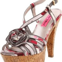 Betsey Johnson Women's Circle Slingback Pump