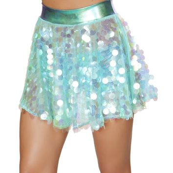 Roma Rave 3600 - 1pc Flare Sequin Skirt