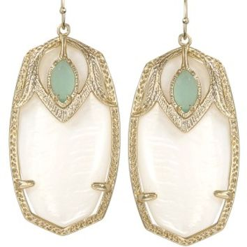Darby Earrings in Aloe - Kendra Scott Jewelry