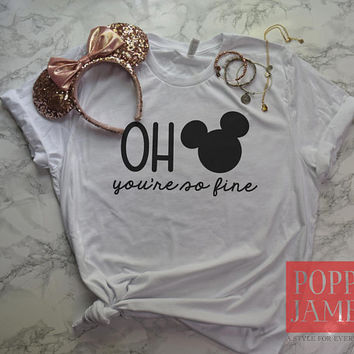 Disney Shirts / Oh Mickey / Mickey Mouse Shirt / Disney Family Shirts / Disney Shirts for Women / Men / Kids / Toddler / Funny Disney Shirt