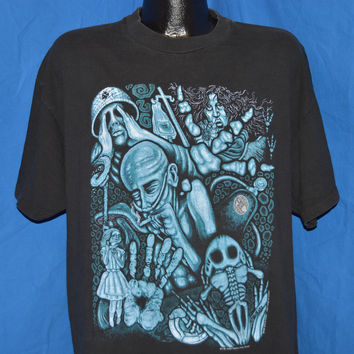 90s Alice in Chains Fall Tour 1993 Grunge Rock t-shirt Extra-Large
