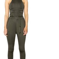 Bodycon Long Pant Rompers