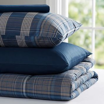Heritage Plaid Value Comforter Set
