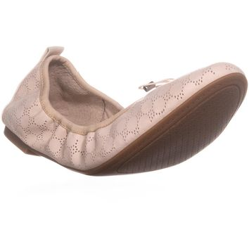 Jessica Simpson Nalan2 Cut Out Ballet Flats, Vanilla Cream, 8 US / 38 EU