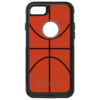 DistinctInk™ OtterBox Commuter Series Case for Apple iPhone or Samsung Galaxy - Basketball Drawing