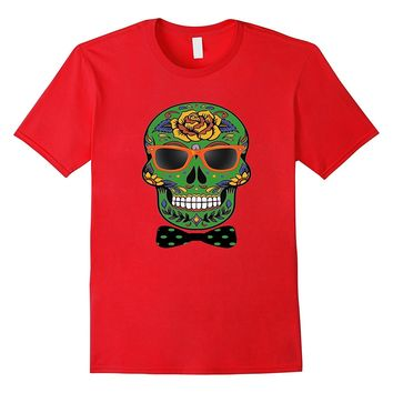 Funny Halloween Skull Shirt - Day Of The Dead T-Shirt