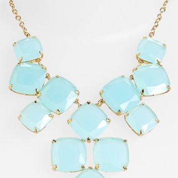 kate spade new york 'shaken & stirred' bib necklace