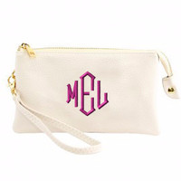 Crossbody Clutch Wallet Monogram