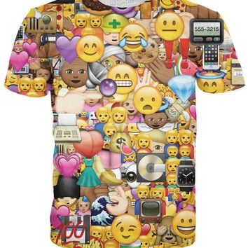 I Love Emojis T-Shirt