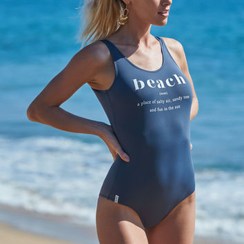 Rhythm Beach One Piece Swimsuit at PacSun.com