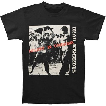 Dead Kennedys Men's  Holiday In Cambodia T-shirt Black