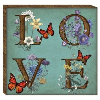 Love Canvas Wall Art (2072) - Illuminada