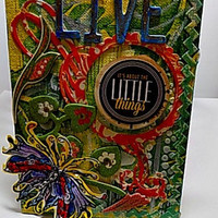 It's the Little Things Mixed Media Canvas Board. Ready to Ship