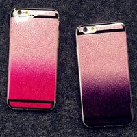 Unique Twinkle Silicone Case Cover for iPhone 5s 6 6s Plus Gift-154