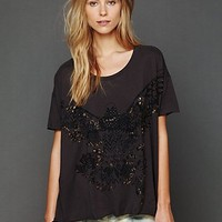 Free People We The Free Trusted Eagle Tee