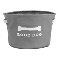 Eco Good Dog Toy Storage Bin | Grey