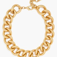 BaubleBar Rolo Chain Link Collar Necklace