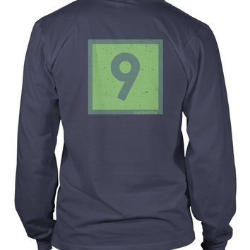 Classic Channel Marker Nine Long Sleeve T-Shirt