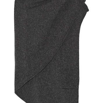 Lemaire - Asymmetric wool scarf