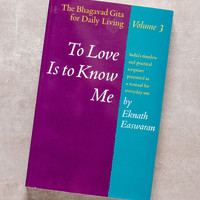 Volume 3: To Love Is to Know Me