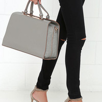 Doctor Up Grey Tote