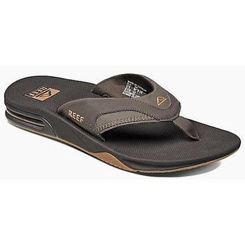 Reef Men's Fanning Sandals with Bottle Opener