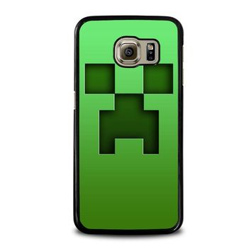 CREEPER MINECRAFT Samsung Galaxy S6 Case Cover