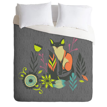 Sarah Watts Sly Fox Duvet Cover