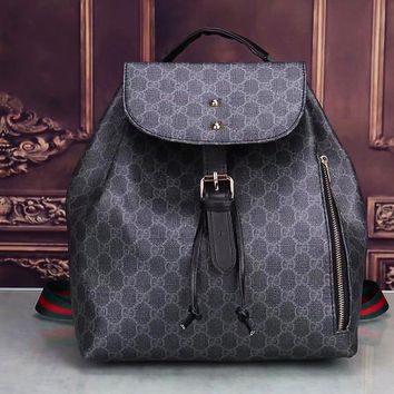 GUCCI Casual Shoulder SchoolBag Satchel Handbag Backpack bag B-LLBPFSH