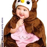 Give A Hoot! Owl Infant Costume - Brown - Up to 24 Months